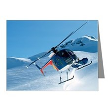 Helicopter Note Cards (Pk of 10)