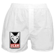 SCAN - with Website Boxer Shorts