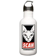 SCAN - with Website Sports Water Bottle