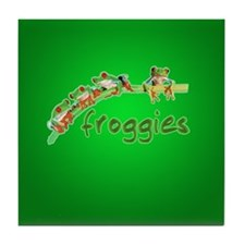 Froggie Merch Tile Coaster
