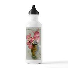 Pink Dogwood in Czech  Water Bottle