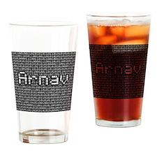 Arnav, Binary Code Drinking Glass