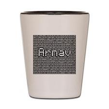 Arnav, Binary Code Shot Glass