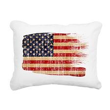 United Statestex3-paint  Rectangular Canvas Pillow