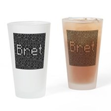 Bret, Binary Code Drinking Glass