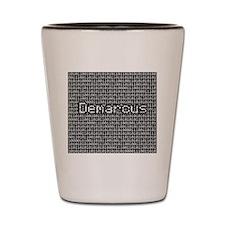 Demarcus, Binary Code Shot Glass