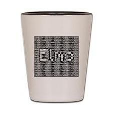Elmo, Binary Code Shot Glass
