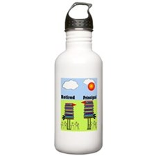 FF retired principal Water Bottle