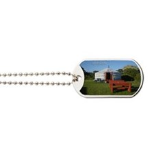 Yurt  Bench Dog Tags