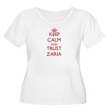 Keep Calm and TRUST Zaria Plus Size T-Shirt