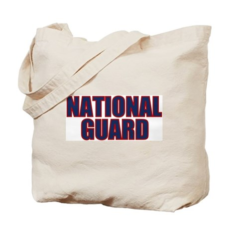 NATIONAL GUARD Tote Bag