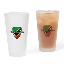 saint kitts and nevis1 Drinking Glass