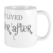 And they lived happily ever after grey Mug