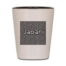 Jabari, Binary Code Shot Glass