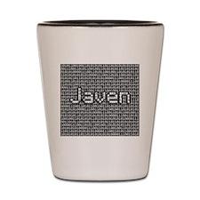 Javen, Binary Code Shot Glass