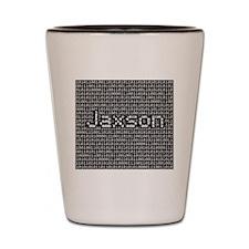 Jaxson, Binary Code Shot Glass