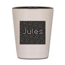 Jules, Binary Code Shot Glass