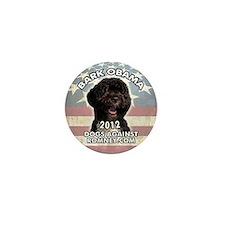 bark_obama_sticker Mini Button