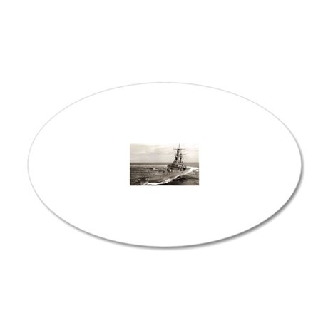mississippi cgn rectangle ma 20x12 Oval Wall Decal