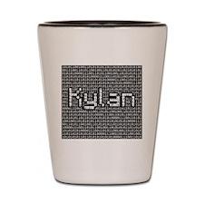 Kylan, Binary Code Shot Glass