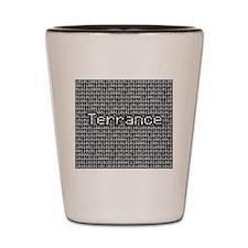 Terrance, Binary Code Shot Glass