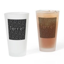 Terrell, Binary Code Drinking Glass