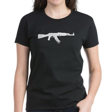 AK-47 Women's Dark T-Shirt