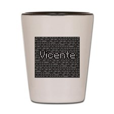 Vicente, Binary Code Shot Glass