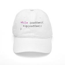 coffee loop Baseball Cap