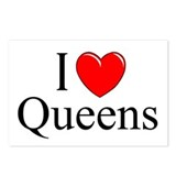 """I Love Queens"" Postcards (Package of 8)"