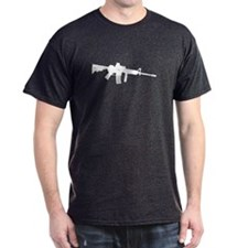 AR Rifle Gray T-Shirt