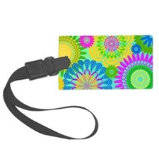 70s-rhapsody-LAPTOP-SKIN Large Luggage Tag