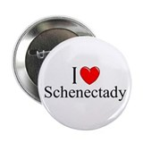 &quot;I Love Schenectady&quot; Button