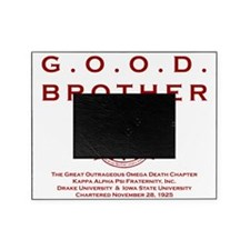 G.O.O.D. Brother (Red) Picture Frame