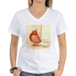 English Shortface Bald Women's V-Neck T-Shirt