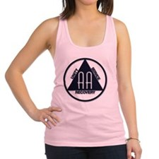 AA_logo_dark Racerback Tank Top