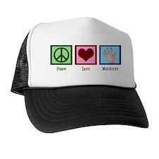 peacelovemanicure Trucker Hat
