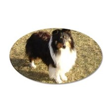 Jeep the Sheltie Wall Decal