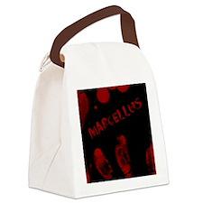Marcellus, Bloody Handprint, Horr Canvas Lunch Bag