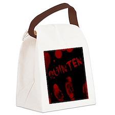 Quinten, Bloody Handprint, Horror Canvas Lunch Bag