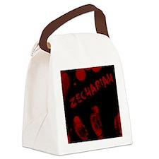 Zechariah, Bloody Handprint, Horr Canvas Lunch Bag