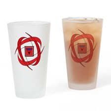 flux love 2 PA tr Drinking Glass