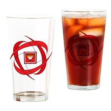 flux love 2 Br tr Drinking Glass