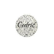 Cedric, Matrix, Abstract Art Mini Button