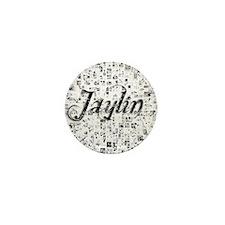 Jaylin, Matrix, Abstract Art Mini Button