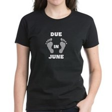 Due in June - blackwhite T-Shirt