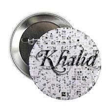 """Khalid, Matrix, Abstract Art 2.25"""" Button"""