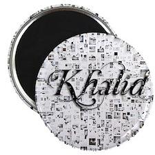 Khalid, Matrix, Abstract Art Magnet
