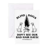 Bad Hair Days Greeting Cards (Pk of 10)