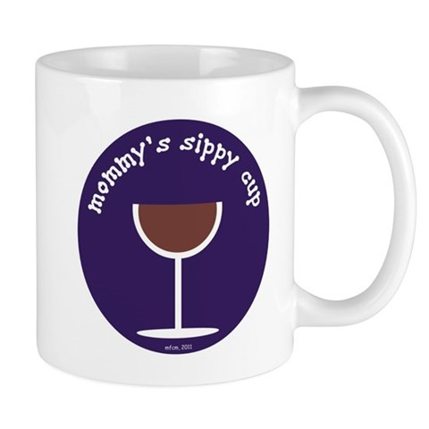 MOMMY'S SIPPY CUP (BLUE) Mug